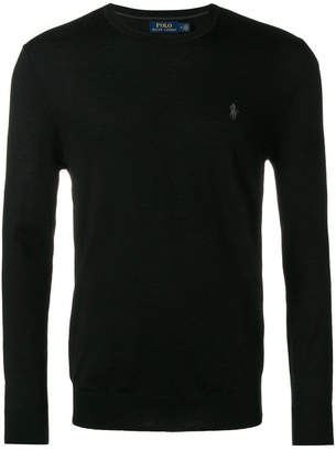 Polo Ralph Lauren Wool Fitted Sweater