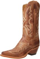 "Justin Boots Women's U.S.A. Bent Rail Collection 12"" Boot Narrow Square Toe Leather Outsole"