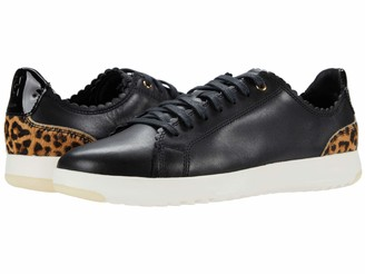 Cole Haan womens Grandpro Tennis Scalloped Laceup Sneaker