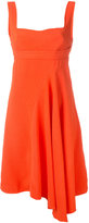 Victoria Beckham flared bustier dress - women - Cotton/Viscose - 10