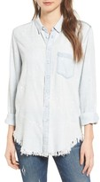 DL1961 Women's Nassau & Manhattan Boyfriend Shirt