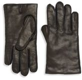 Hickey Freeman Stitched Leather Gloves