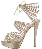 Charlotte Olympia Charlotte's Web Platform Sandals w/ Tags