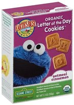 Earth's Best Sesame Street Letter of the Day Cookies