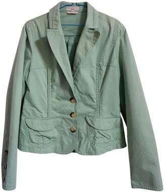 Essentiel Antwerp Green Cotton Jackets