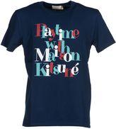 Kitsune Maison Slogan Logo T-shirt