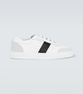 Axel Arigato Dunk striped leather sneakers