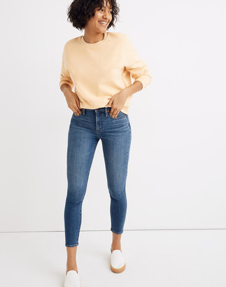 Madewell Curvy High-Rise Skinny Crop Jeans in Dalstrom Wash