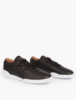 Reebok Black Workout Lo Clean Sneakers