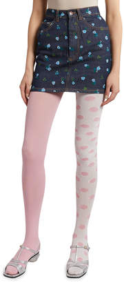Marc Jacobs The The Left and Right Dot Tights
