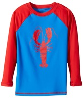 Hatley Lobster Rashguard Boy's Swimwear