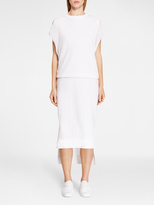 DKNY Sleeveless Viscose Pullover