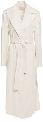 LVIR Belted Linen-canvas Coat