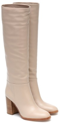 Gianvito Rossi Melissa 85 leather 85 knee-high boots