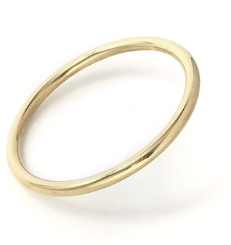 Biko Solid State Bangle Gold