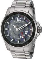 ESQ Men's Stainless Steel Bracelet Watch with Grey Dial FE/0050