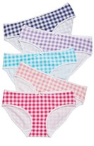 Tucker + Tate Girl's 5-Pack Hipster Briefs