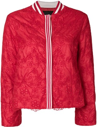 Ermanno Ermanno cropped lace jacket