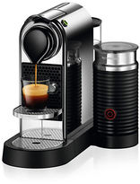 Nespresso CitiZ&milk Coffee Machine by De'Longhi, Chrome