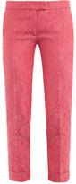 Stella McCartney Portland fluoro jacquard trousers