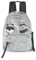 Chiara Ferragni Textured Wink Backpack