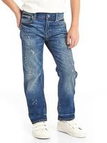 Gap Stretch painter straight jeans