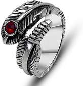MR ALFRED SHOP The high end fashion health forniciform feather ring SA416 Siz-8