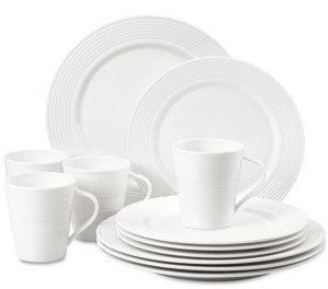 Lenox Dinnerware, Tin Can Alley 12-Pc. Set Service for 4, Created for Macy's