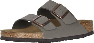 Birkenstock Unisex Arizona Stone Sandals - 41 N EU (US Men EU's 8-8.5 US Women EU's 10-10.5)