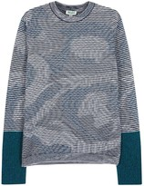 Kenzo Psychedelic Camouflage Wool Jumper