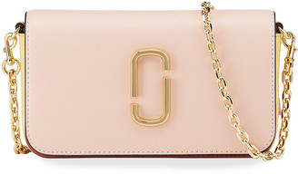 Marc Jacobs Colorblock Leather Chain Crossbody Bag