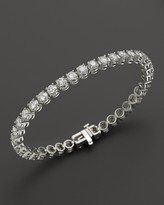 Bloomingdale's Certified Diamond Tennis Bracelet in 14K White Gold, 3.50 ct. t.w.
