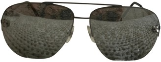 Cartier Grey Metal Sunglasses