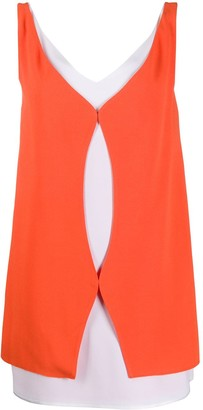 Courreges Colour-Block Mini Shift Dress