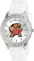 Game Time Women's COL-FRO-MD Frost College Series Collegiate 3-Hand Analog Watch