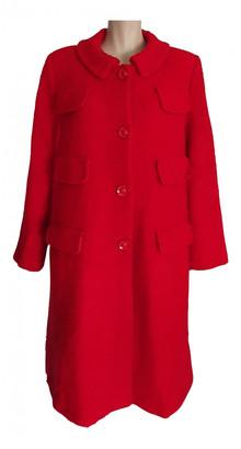 Pierre Cardin Red Wool Coats