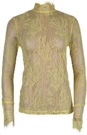 RUE DE FEMME - Yellow Anuk Blouse - xsmall - Yellow/Grey