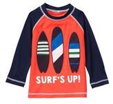 Gymboree Surf's Up Rash Guard