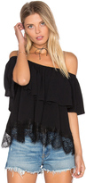 LAmade Evander Off Shoulder Top