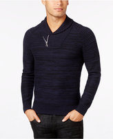INC International Concepts Men's Nickelby Marled Shawl-Collar Sweater, Only at Macy's