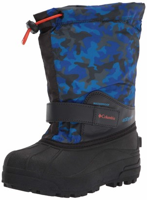 Columbia Youth Powderbug Forty Print Snow Boot Waterproof Insulated