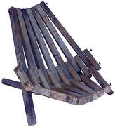 One Kings Lane Vintage Midcentury Wood-Slat Beach Chair