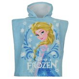 Disney Frozen Elsa Hooded Poncho Towel Infant Beach Pool Bath Robe