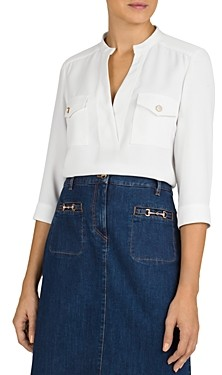 Gerard Darel Nancy Crepe Blouse