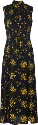 Emilia Wickstead Joella Floral-Print Chiffon Midi Dress