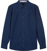 Jaeger Pinstripe Pocket Shirt, Navy