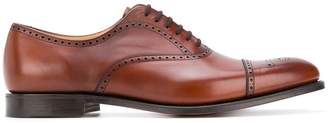 Church's pointed toe brogues