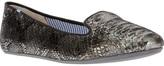 Charles Philip Shanghai snake print slipper