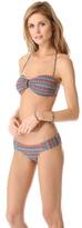 OndadeMar Folkloric Bandeau Bikini Top