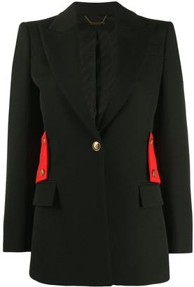 Givenchy Half-Belt Single-Breasted Blazer